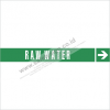 LABEL PIPA - RAW WATER