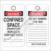 SAFETY TAG CONFINED SPACE