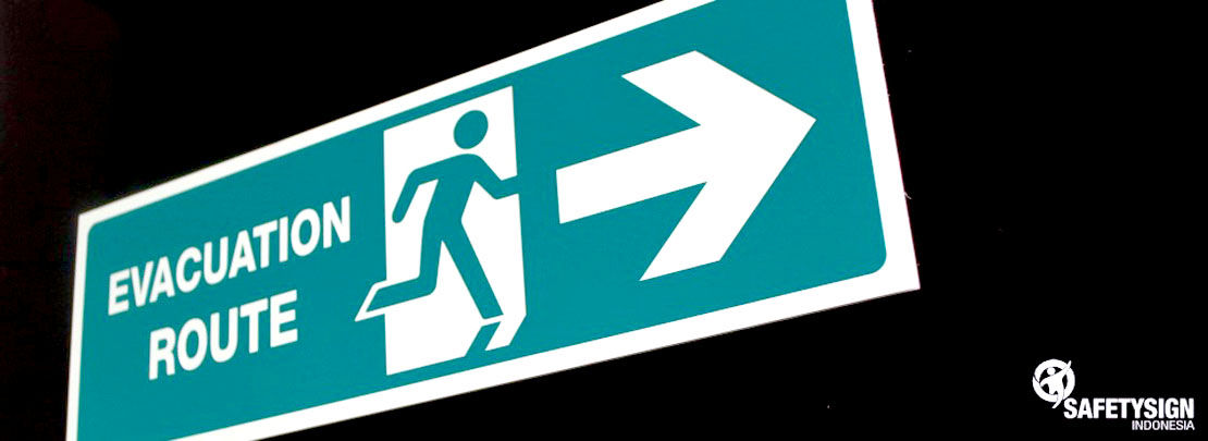 Safety Sign | Rambu K3 - EXIT & Evacuation Sign